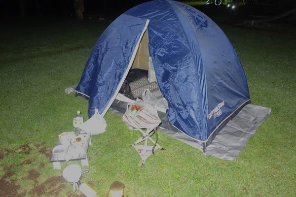 キャンプ(北村温泉)