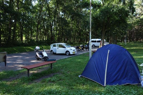 つつじ公園キャンプ場2