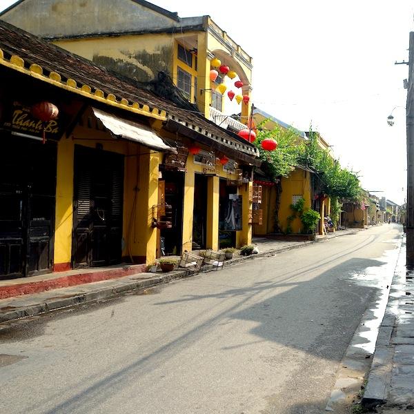 古い街並が美しい。ベトナム、古都ホイアン