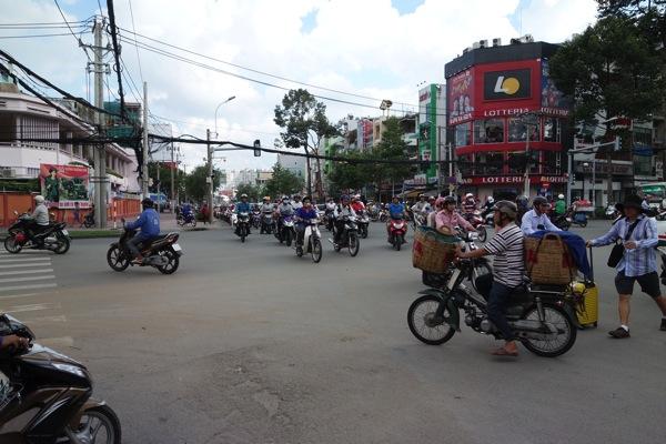ベトナムのバイク1