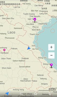 ベトナムラオス国境