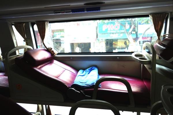 ベトナム寝台バス2