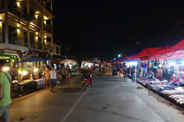 ルアンパバーンナイトマーケット