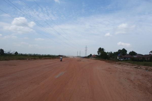 ヴィエンチャン道路