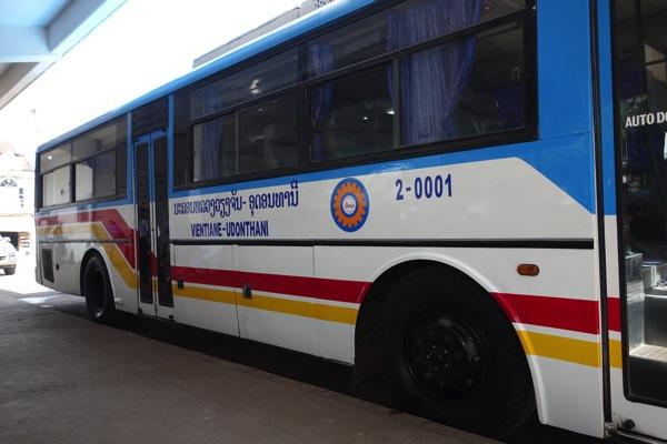 ウドンタニ行きバス1
