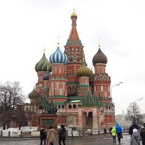 モスクワを散歩。そして、ネムツォフ氏殺害現場