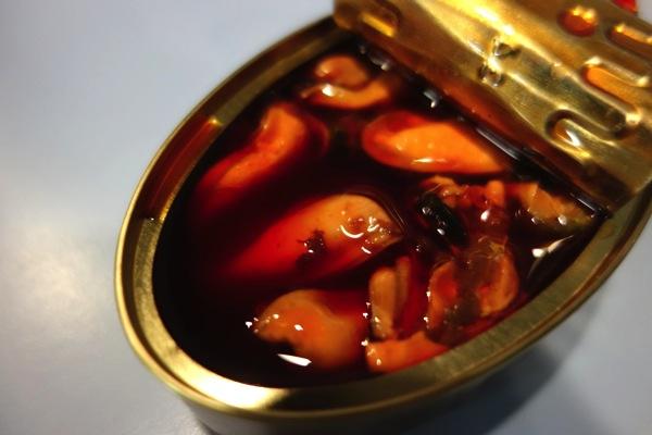 ムール貝の缶詰2