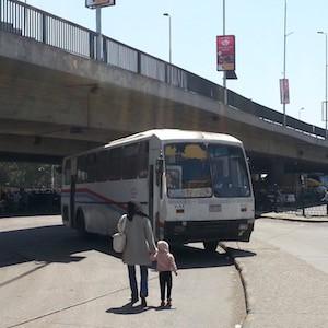 カイロ空港行きバス