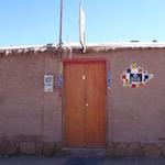 サンペドロアタカマの安宿。Hostal Laskar
