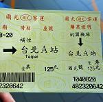 台湾、桃園国際空港から台北市内の行き方