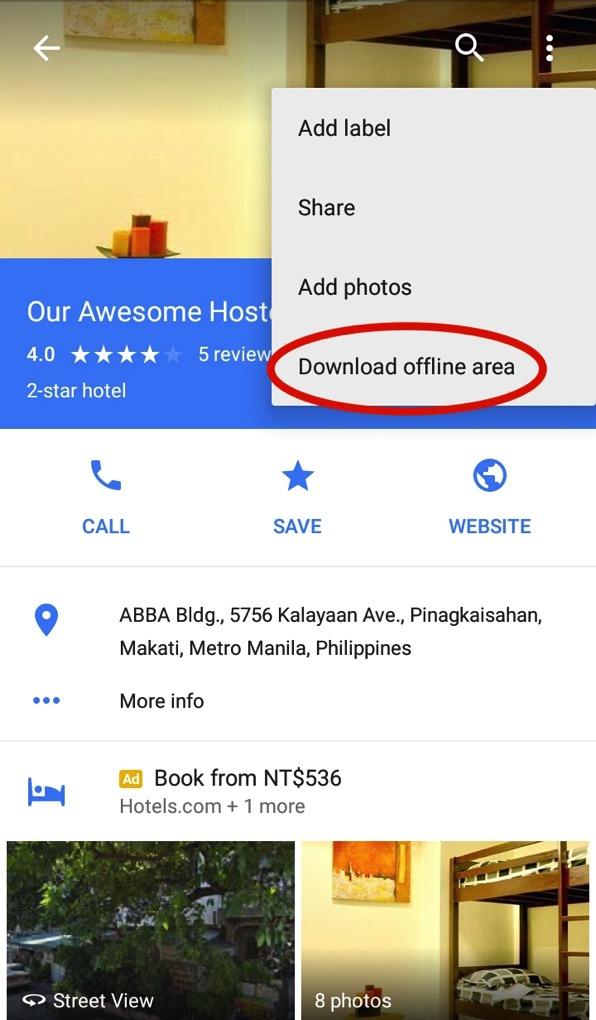 Googlemapofflinemap3