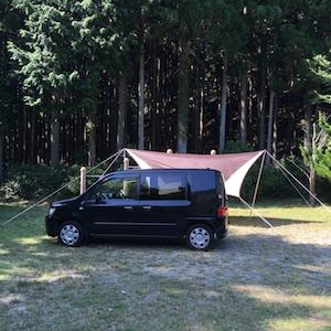 第2回:三国公園鳥羽キャンプ場でソロキャンプ 1日目